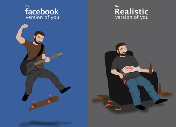 Du und deine Facebookpersönlichkeit!